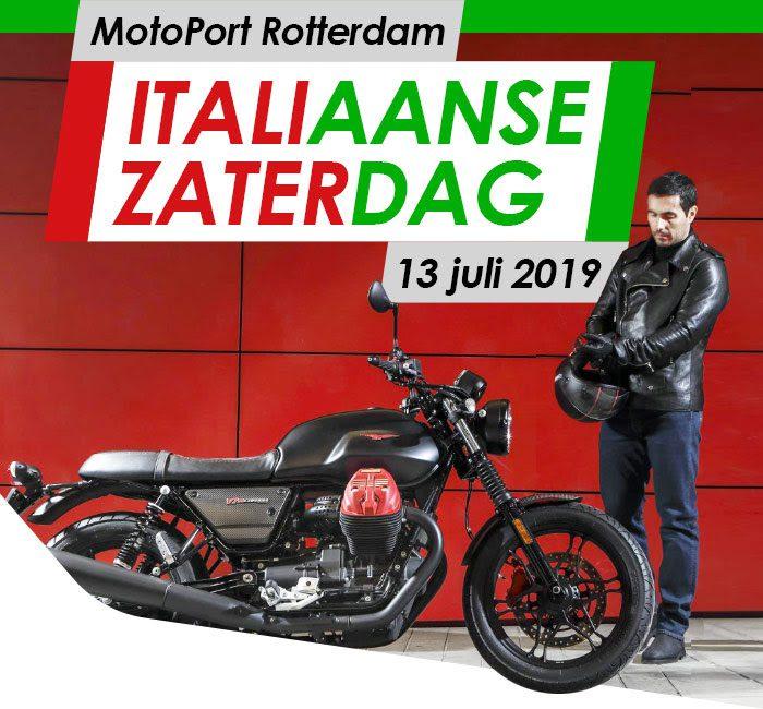 Italiaanse zaterdag bij MotoPort Rotterdam