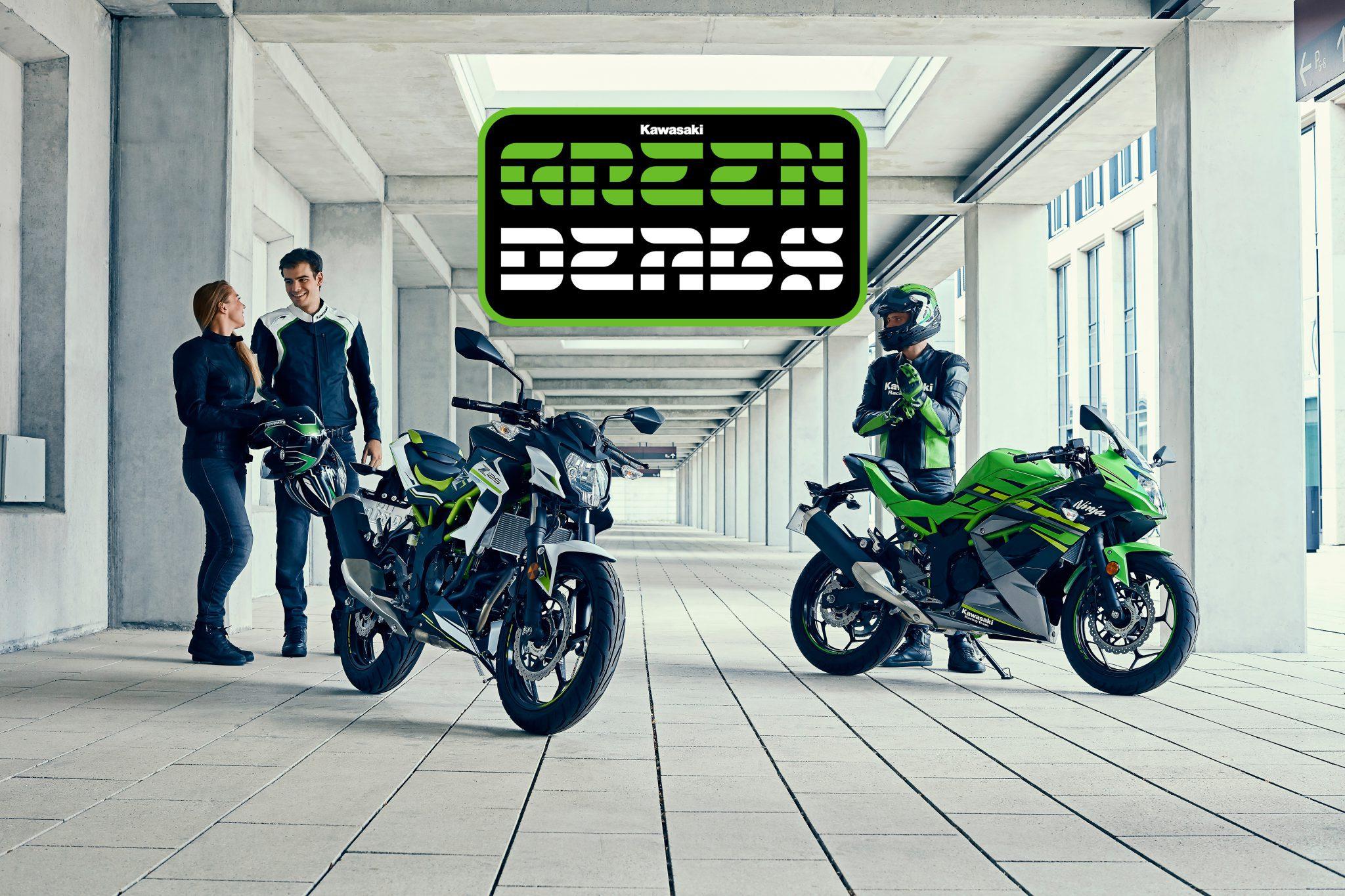 Kawasaki Green Deal: Voordeel op de Z125 en Ninja 125