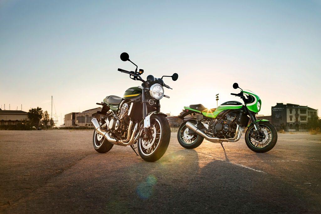 De 2020 kleuren voor de Kawasaki Z900RS en Z900RS CAFE