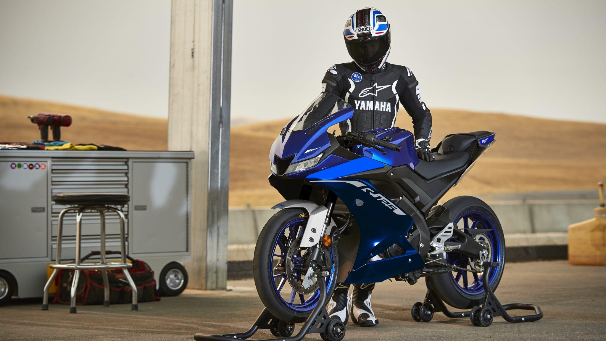 Nieuwe 2020 kleuren Yamaha YZF-R125, YZF-R3 en YZF-R6