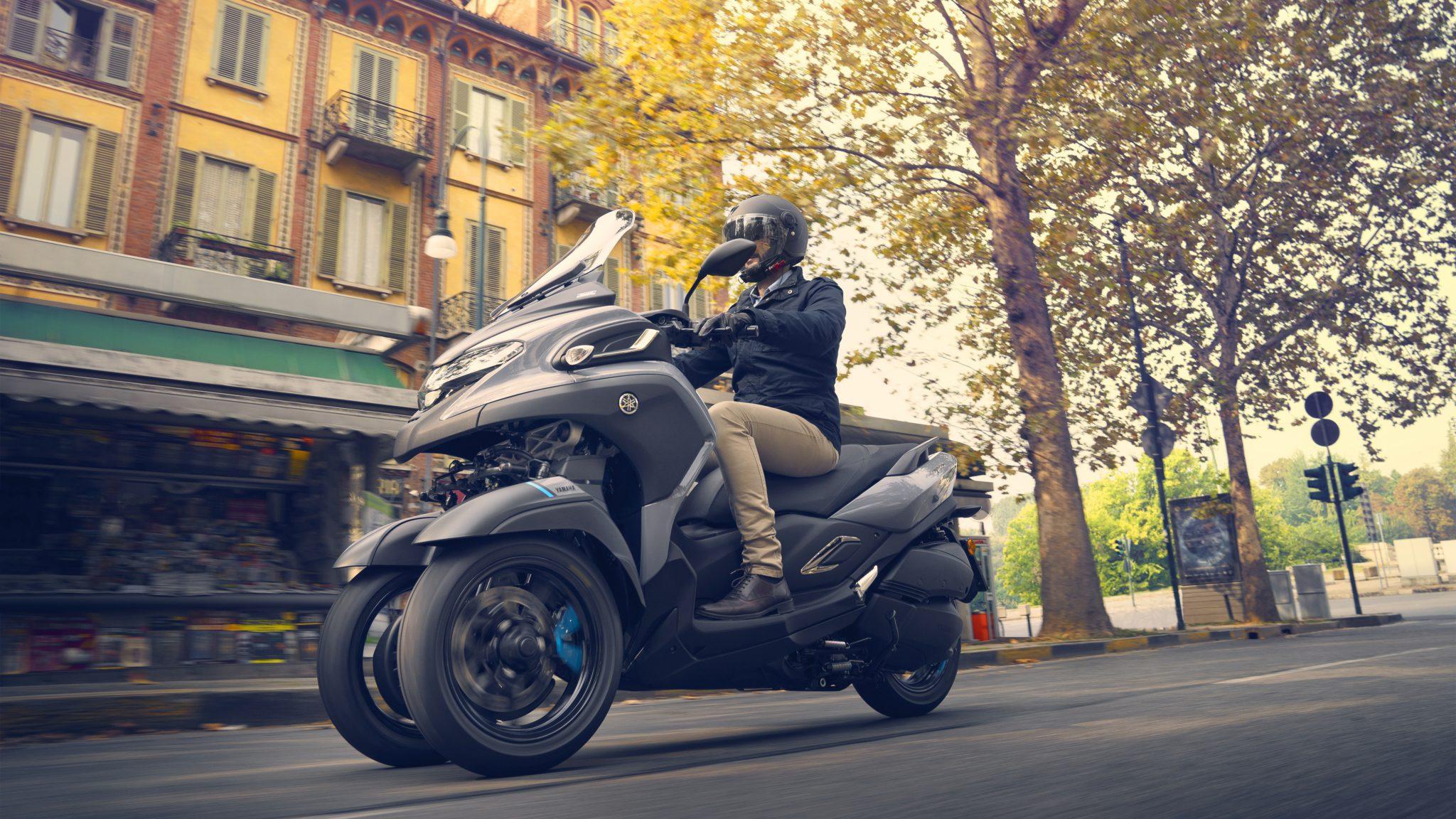 De Tricity 300, het toegankelijke alternatief van Yamaha
