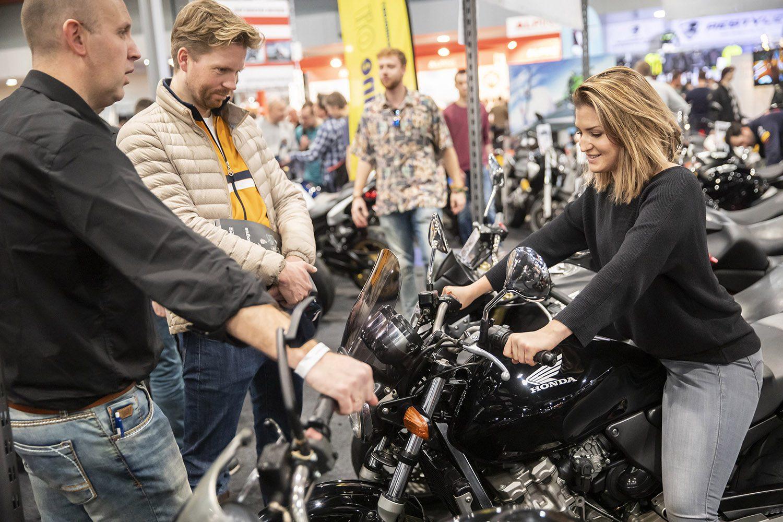 Ticketverkoop MOTORbeurs Utrecht 2020 van start met ludieke actie