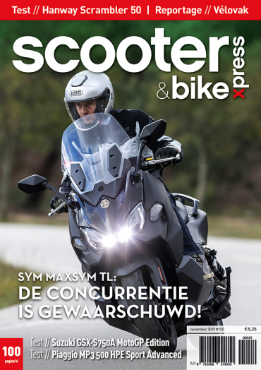 Scooter&bikexpress #150 (november 2019)
