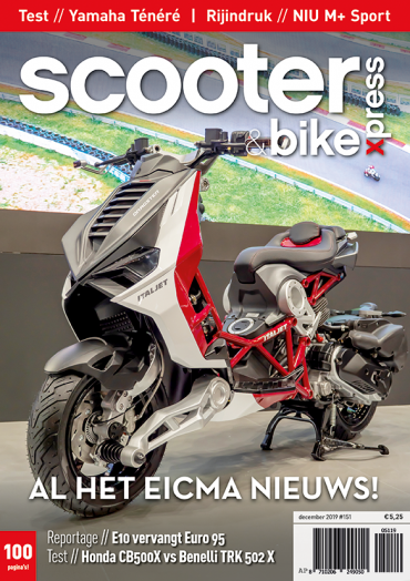 Scooter&bikexpress #151 (december 2019)