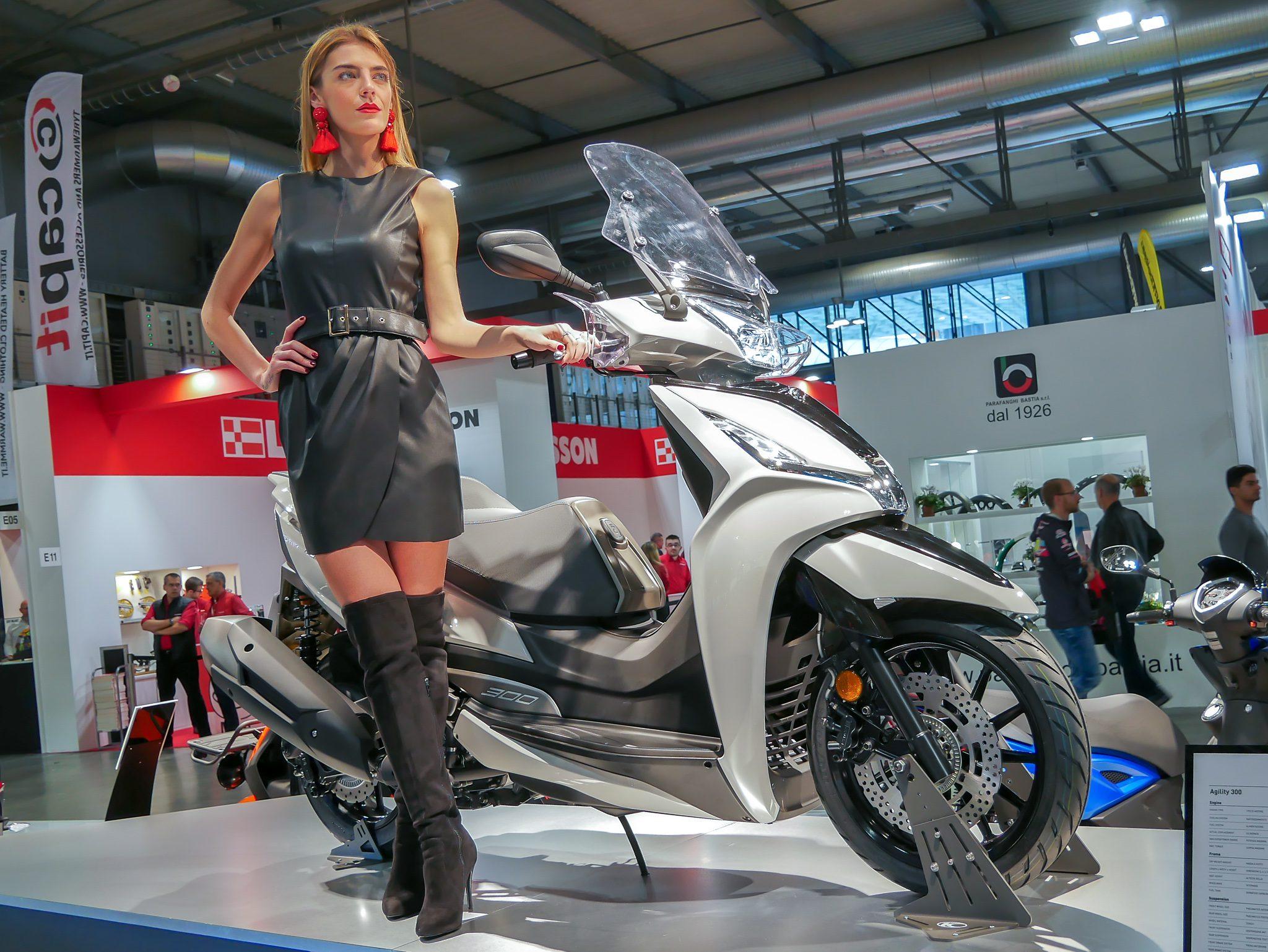 Kymco introduceert nieuwe Agility 300i & New People 300i op MOTORbeurs Utrecht