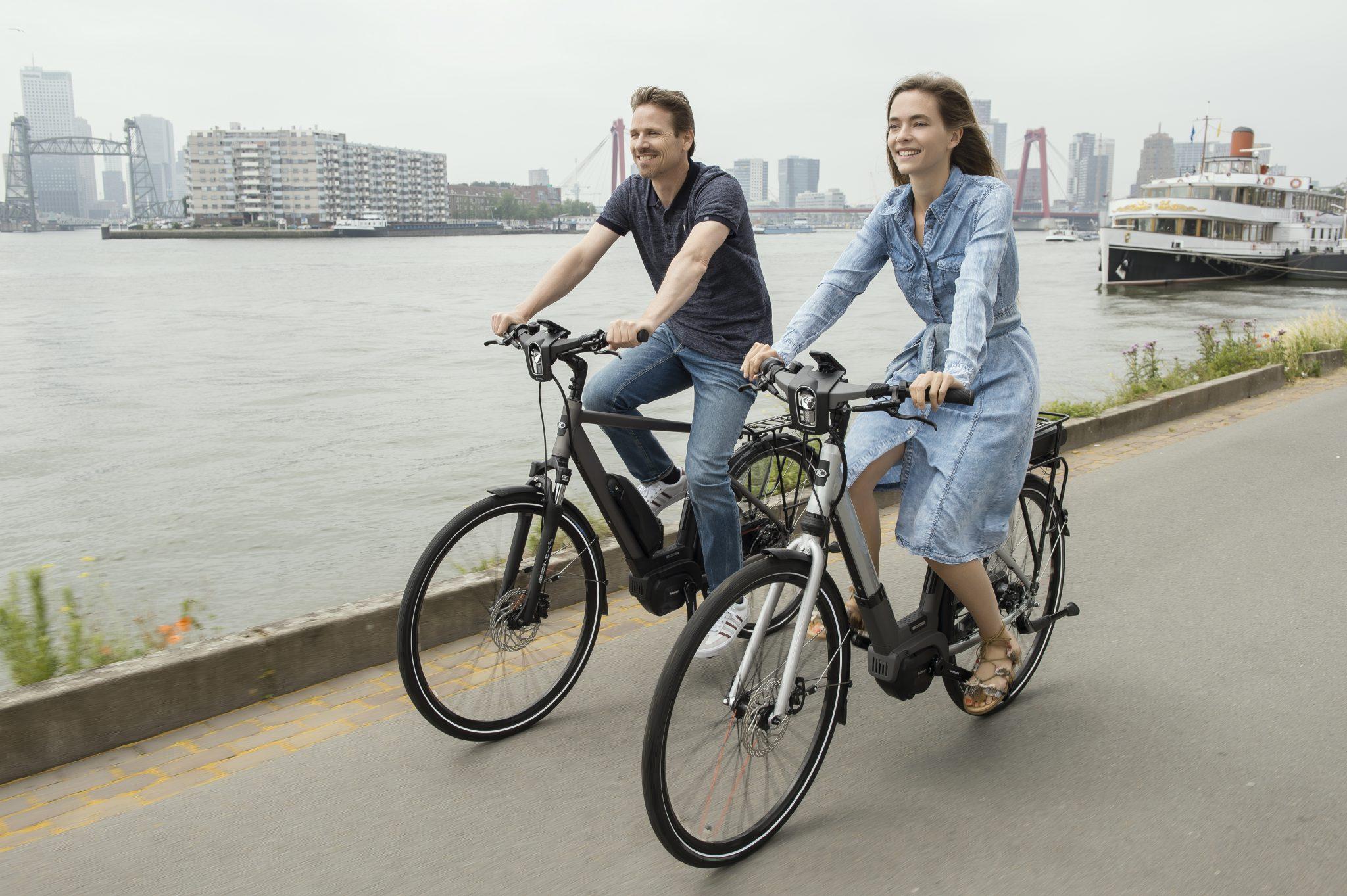 Kymco Street Comfort e-bike scoort een 9