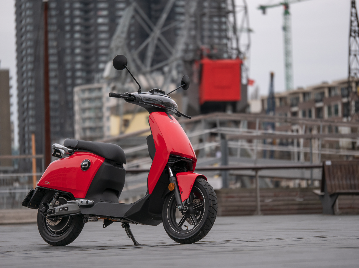 Super Soco lanceert nieuwe website met E-scooters & E-brommers