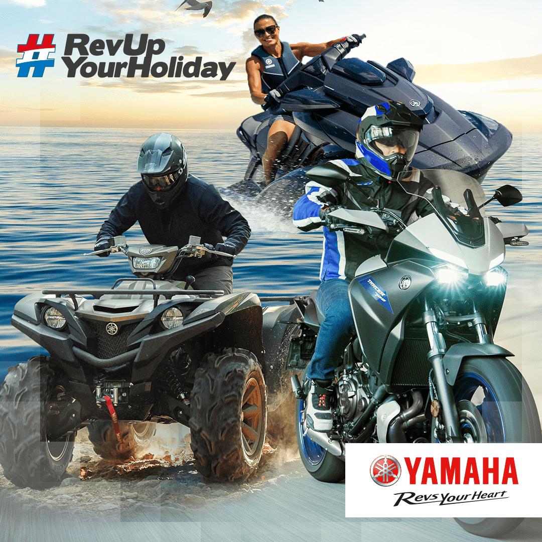 Yamaha lanceert RevUpYourHoliday.nl