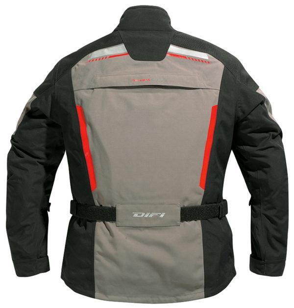 DIFI-Ontario-Aerotex-motorjas--zwart+-neongeel