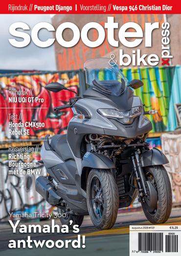 Scooter&bikexpress #159 (augustus 2020)