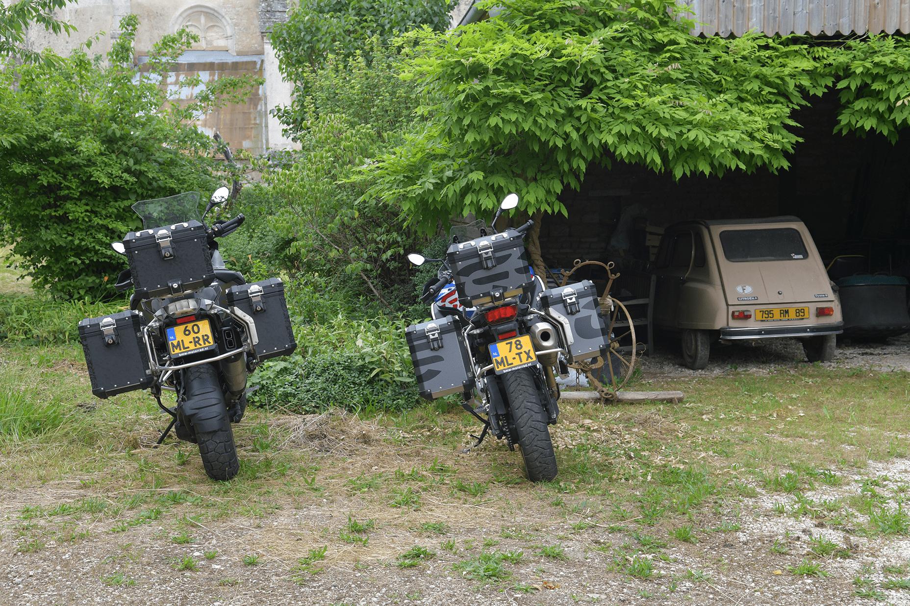 Naar Bourgogne met een BMW F 850 GS en R 1250 GS