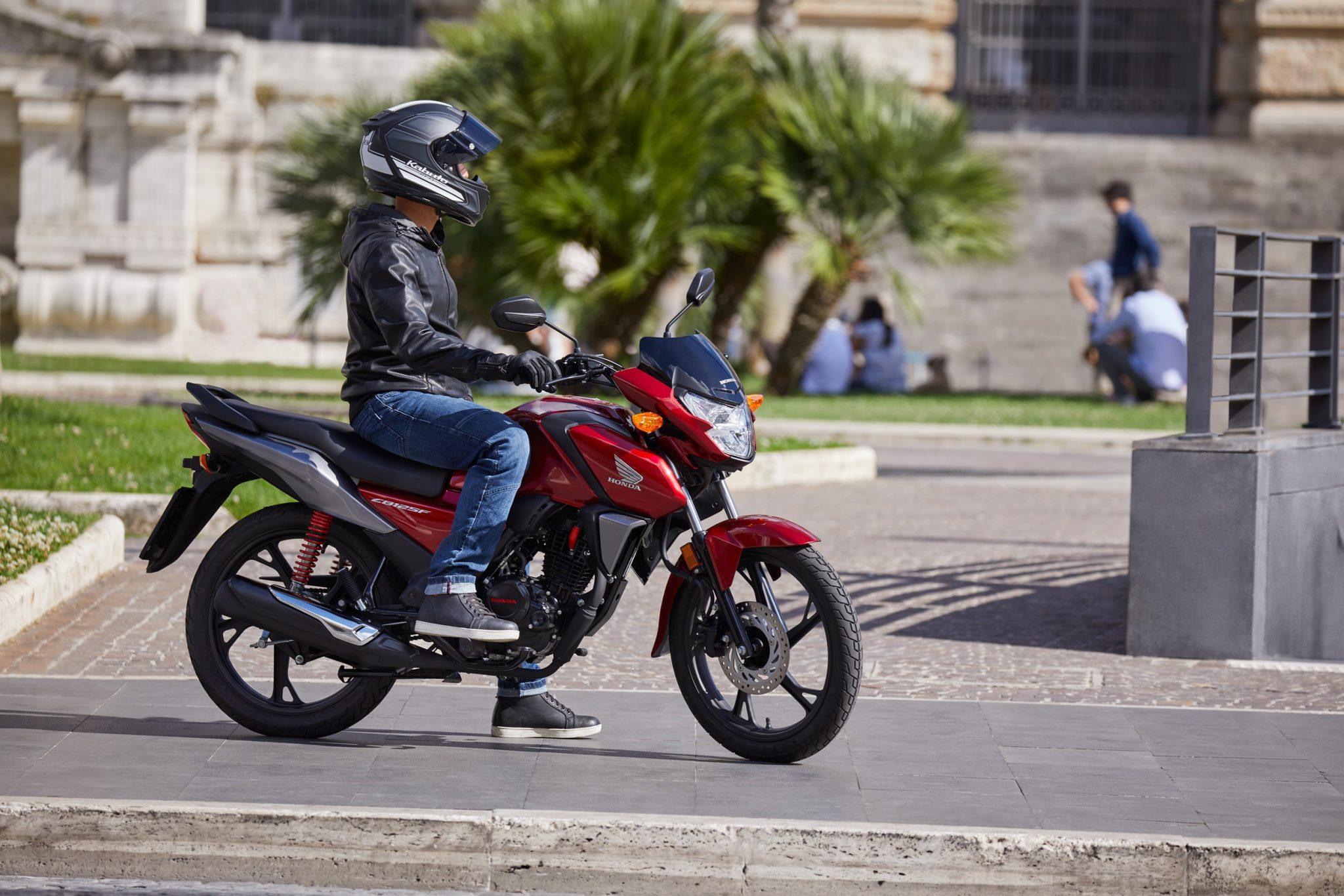 Honda vernieuwt CB125F