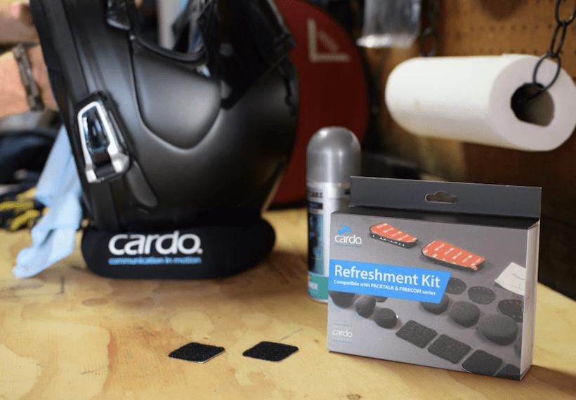De Cardo Refreshment Kit maakt je helm weer als nieuw!