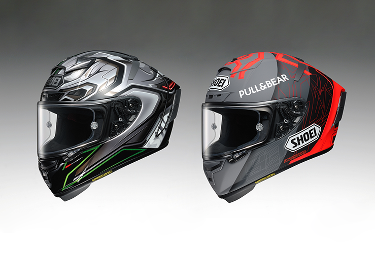 Shoei Marquez Black Concept 2.0