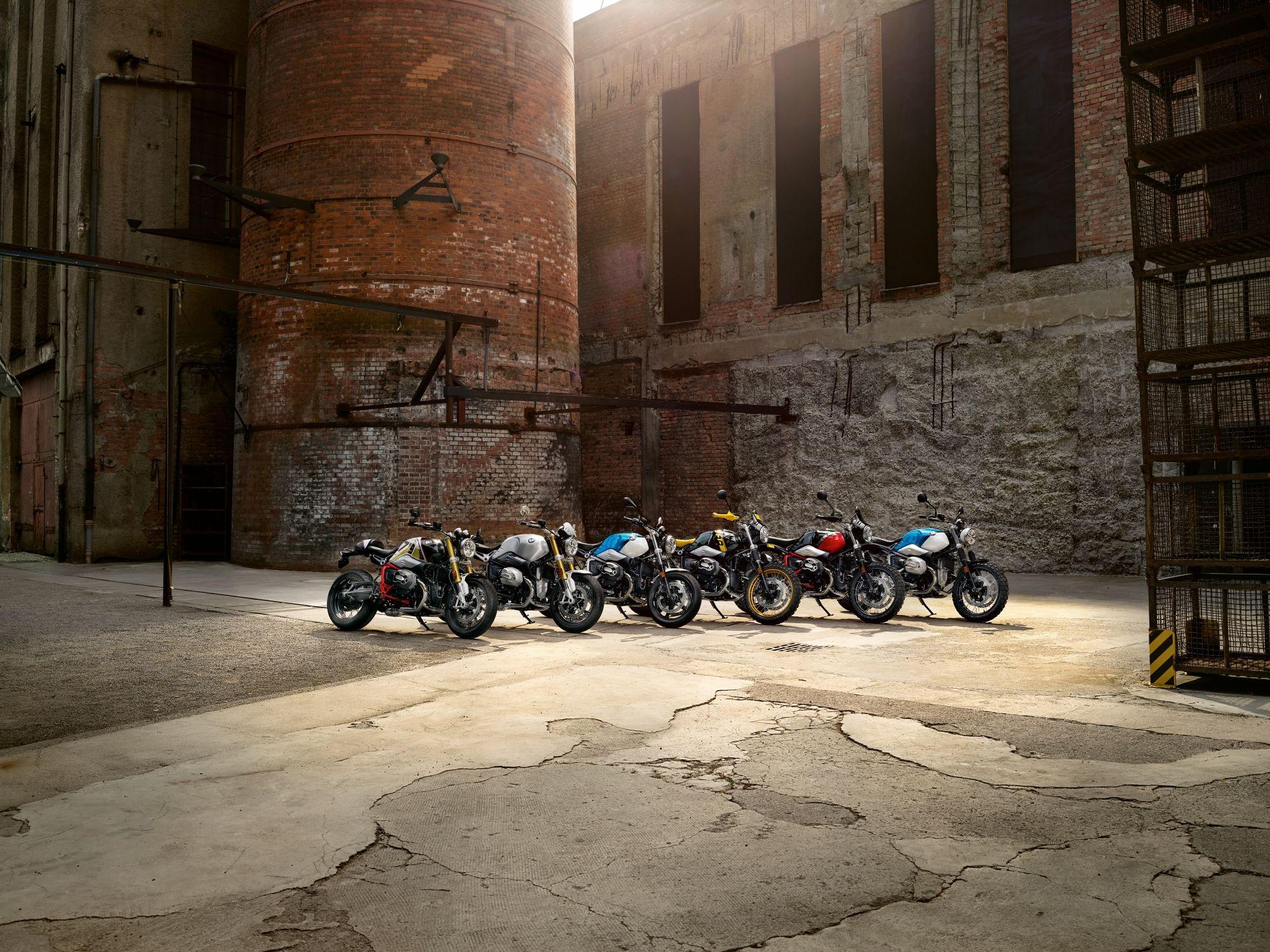 Nieuwe BMW R NineT modellen, af-fabriek ook als A2 leverbaar!