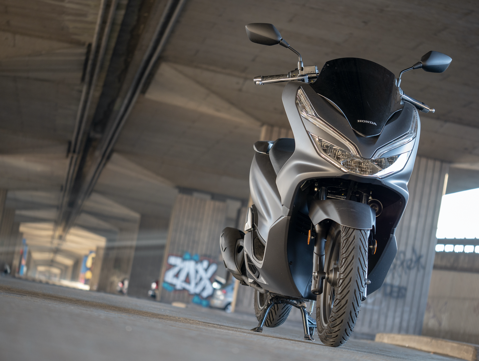 Test Honda PCX125