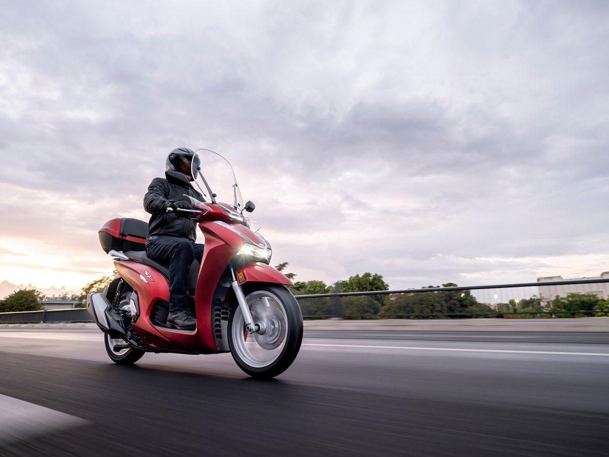 Honda SH350i is krachtigste SH ooit!