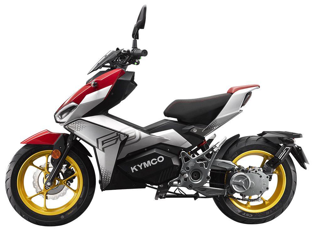 Kymco presenteert met de F9 een unieke e-scooter!