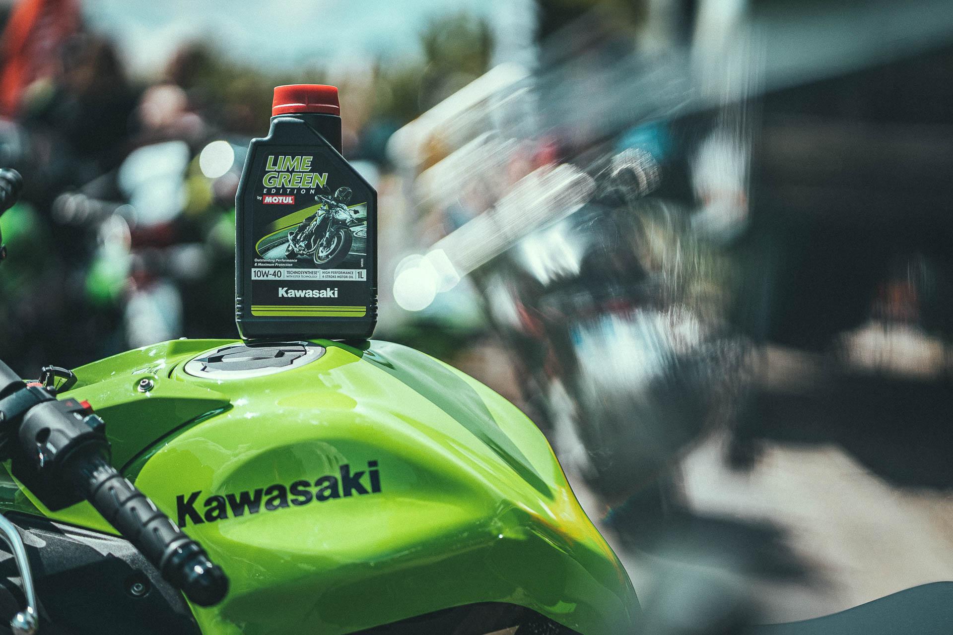Kawasaki en Motul introduceren nieuwe motorolie