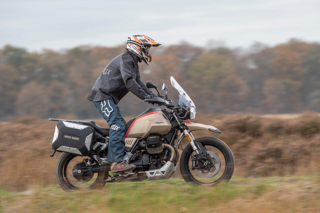 Test Moto Guzzi V85 TT Travel