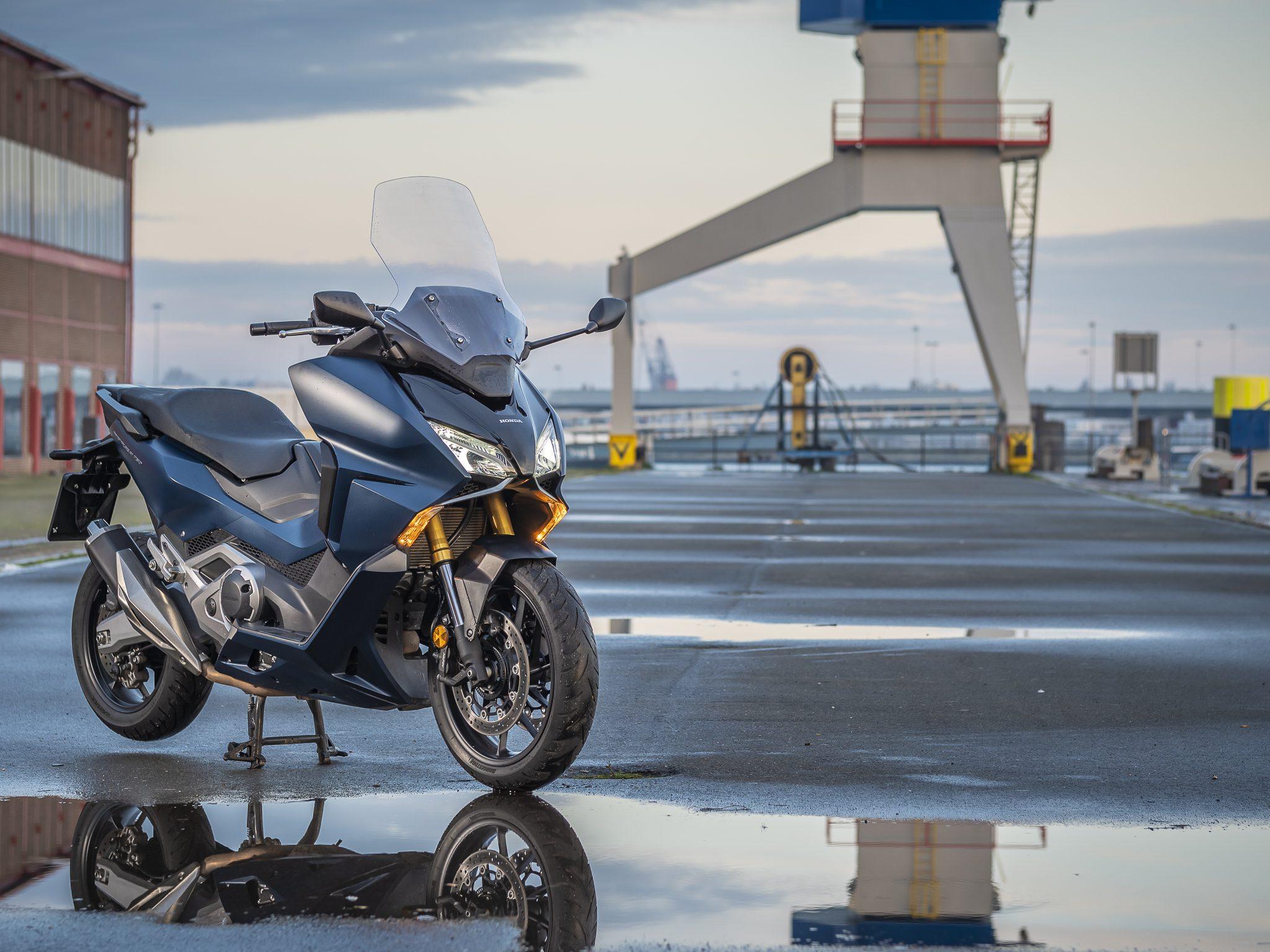 Test Honda Forza 750