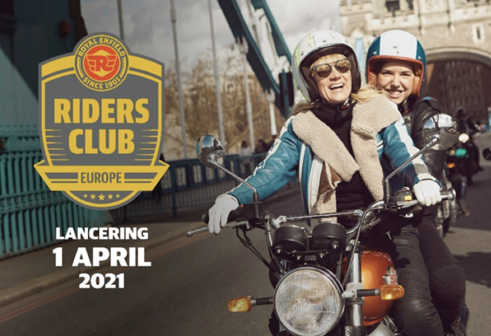 Royal Enfield lanceert The Riders Club of Europe