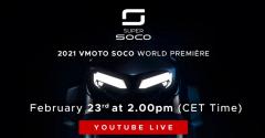 2021 Vmoto Soco World Première