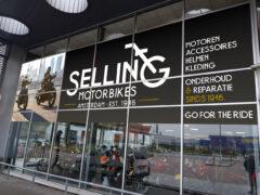 selling motorbikes