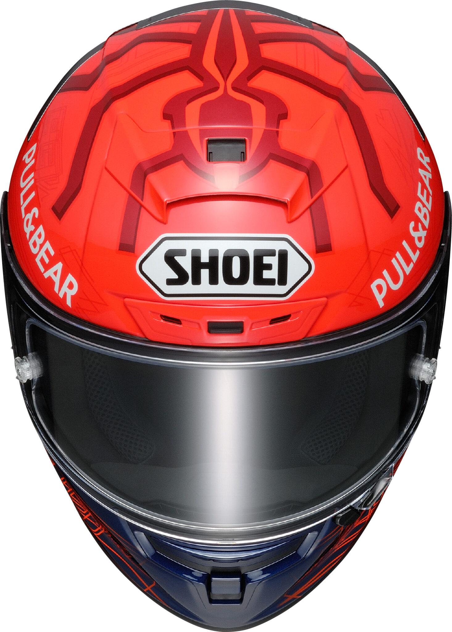 Nieuwe Shoei Marquez replica's