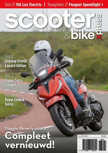 Scooter&bikexpress #169 (juni 2021)