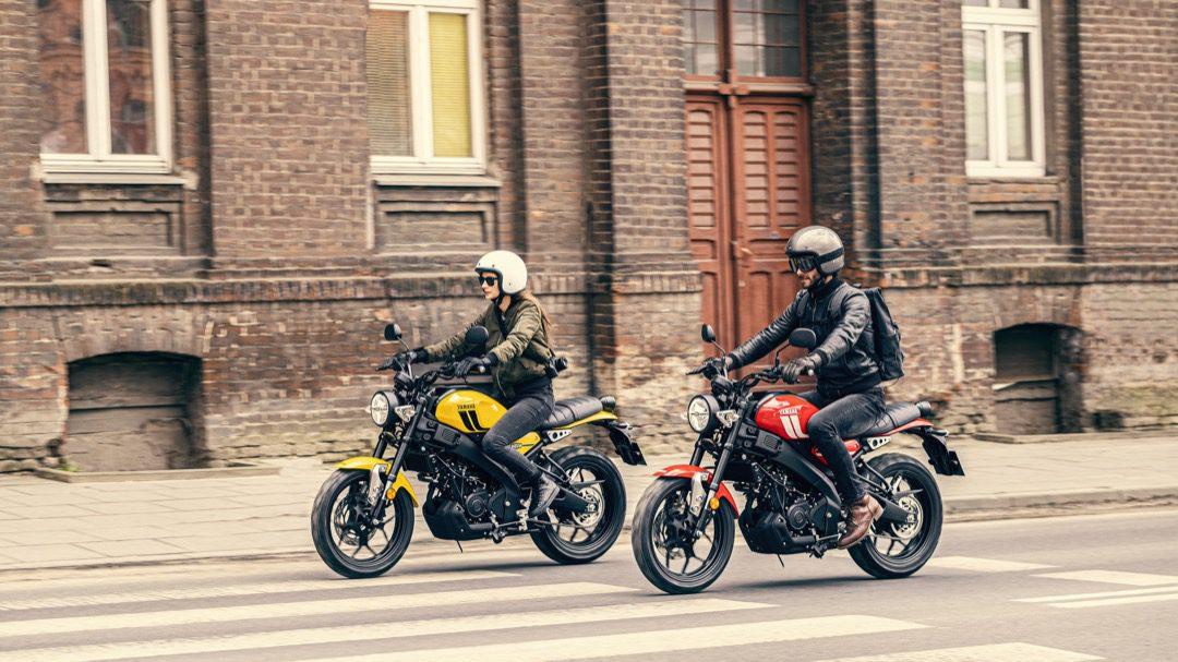 Compleet nieuwe Yamaha XSR125