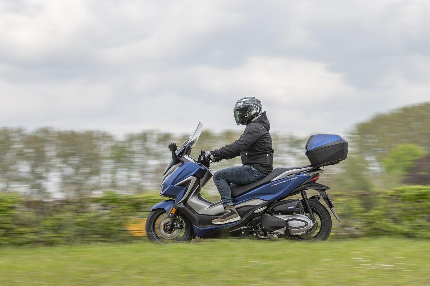 Test Honda Forza 350