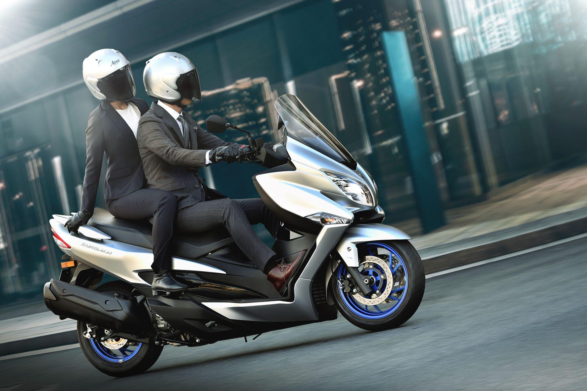 Suzuki Burgman 400 vernieuwd voor 2022