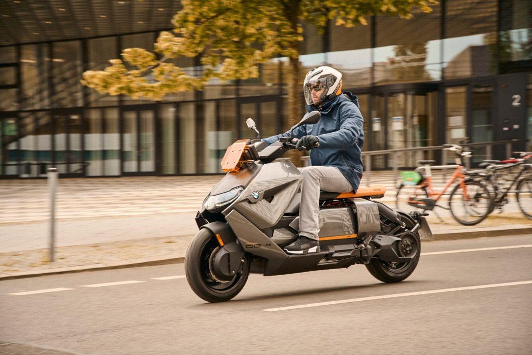 De nieuwe BMW CE 04 (UPDATE: nu met video)