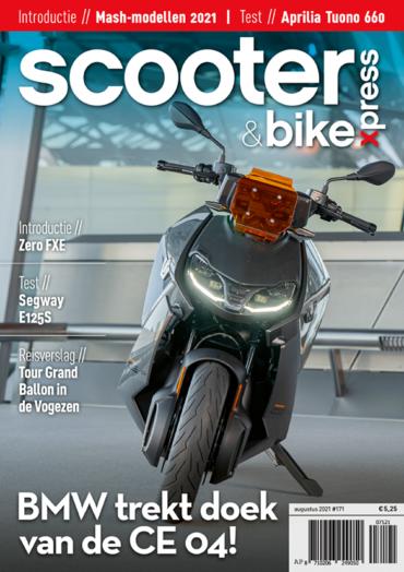 Scooter&bikexpress #171 (augustus 2021)