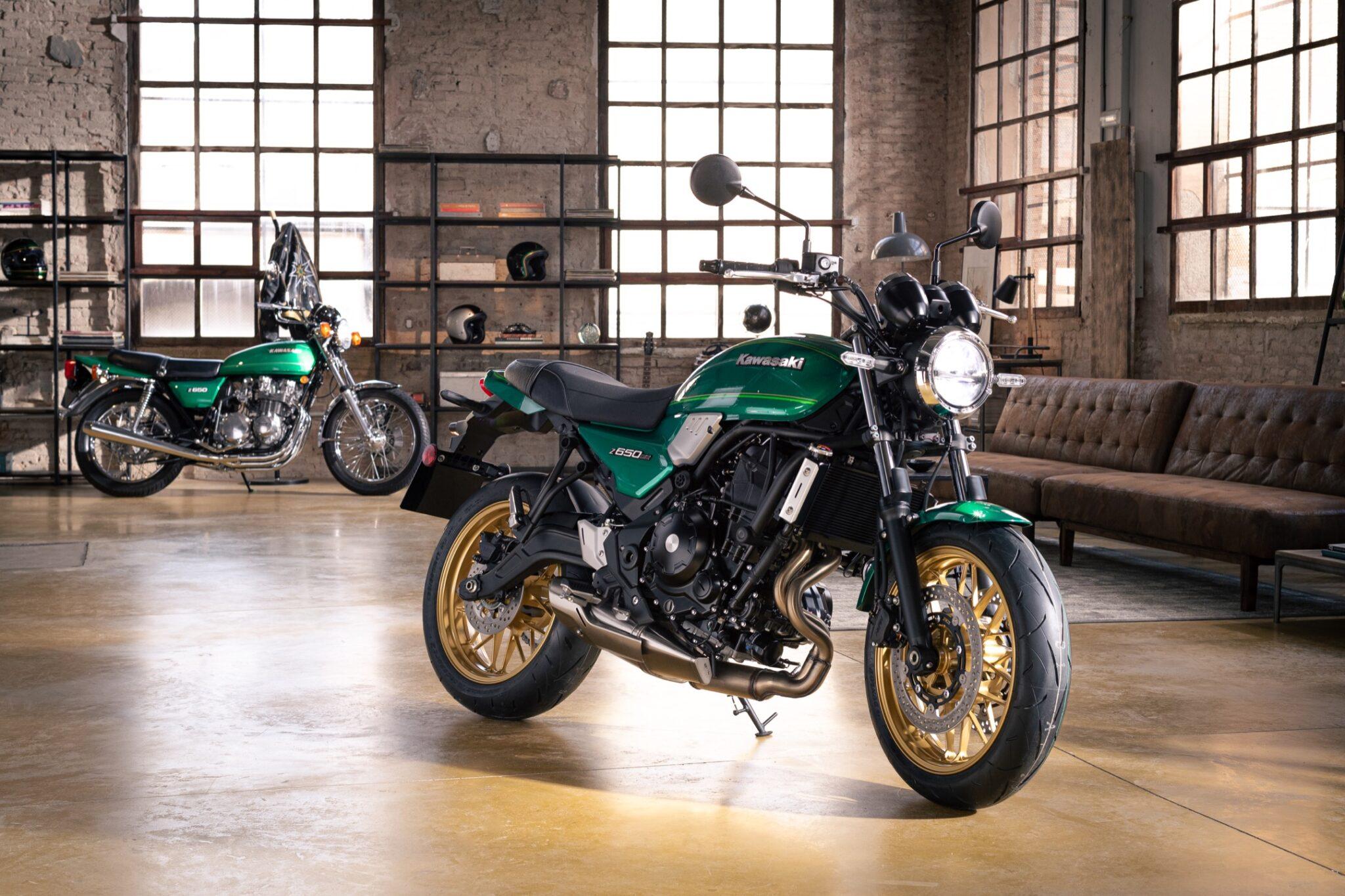 Kawasaki introduceert de nieuwe Z650RS