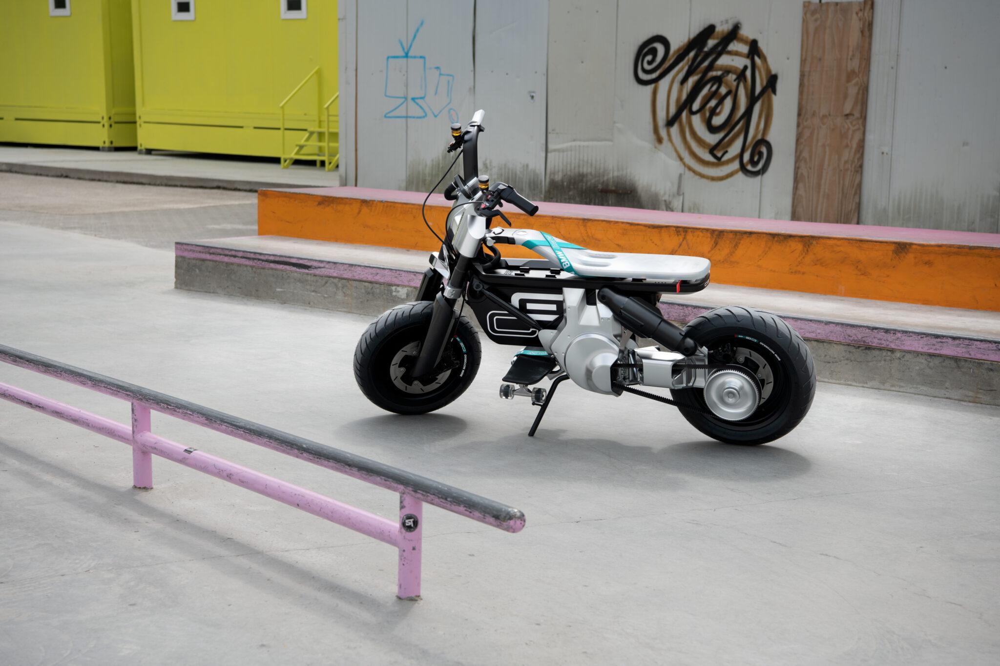 BMW Motorrad komt met Concept CE 02