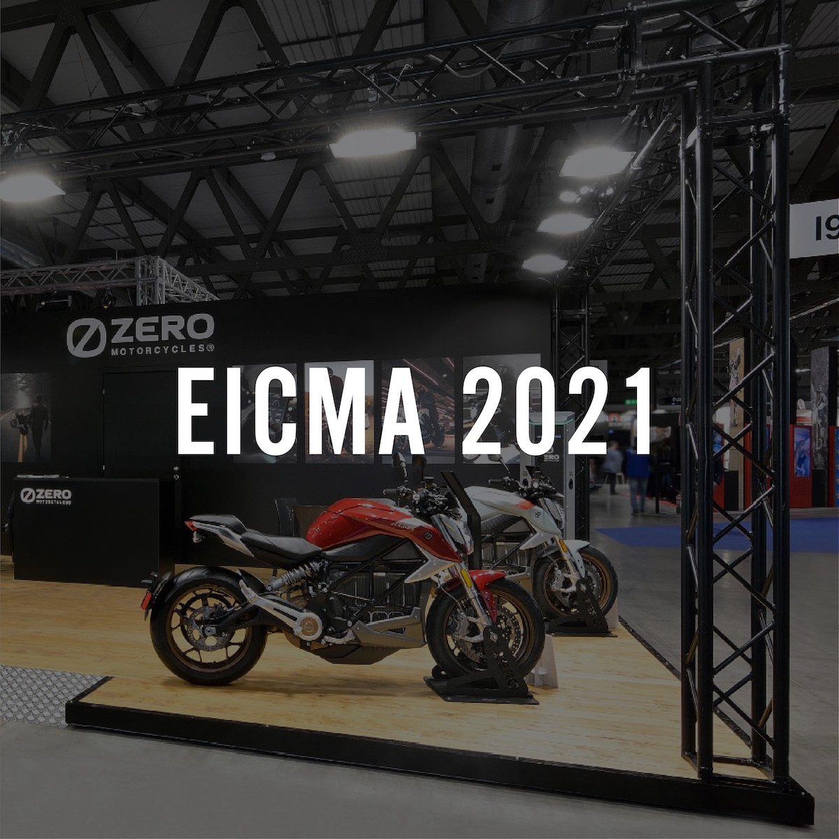 Zero Motorcycles aanwezig op EICMA 2021